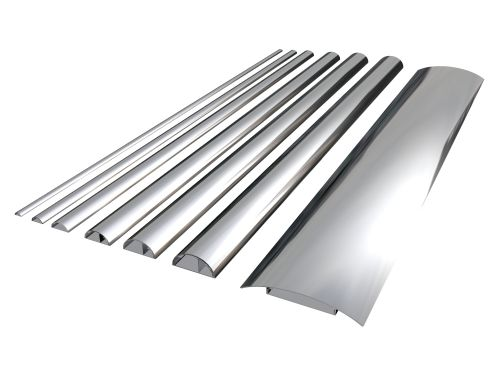 Aluminium Chrome Cable Covers