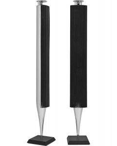 Refurbished BeoLab 18 - Aluminium met zwarten lamellen
